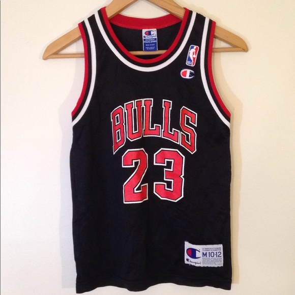 Champion Other - Vtg 90s Champion Youth M Jordan Jersey NBA Bulls 32db5bb49
